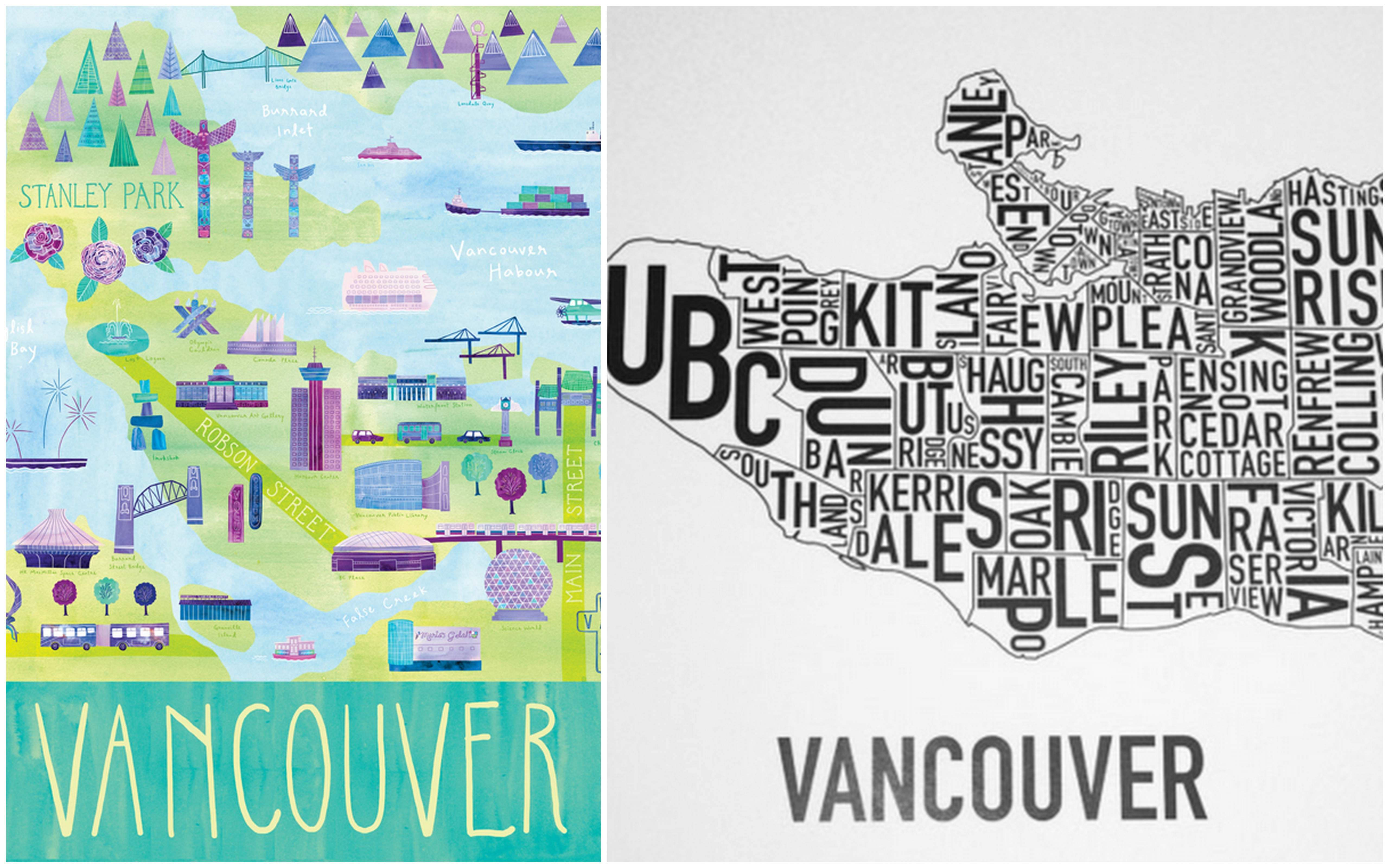 Poster design vancouver - Vancouver Illustration By Marisa Seguin Vs Vancouver Poster By Ork Which One Is Your Favourite