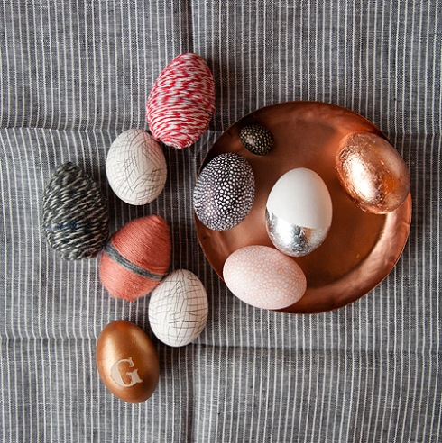 DIY EASTER EGG DECORATIONS